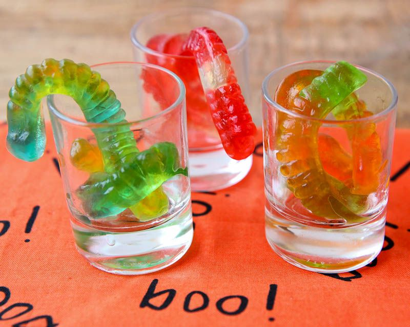 How To Make Vodka Gummy Worms For Halloween Offer The