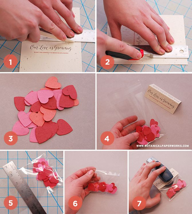 Free Printable Diy Confetti Wedding Favors Pinterest Wedding