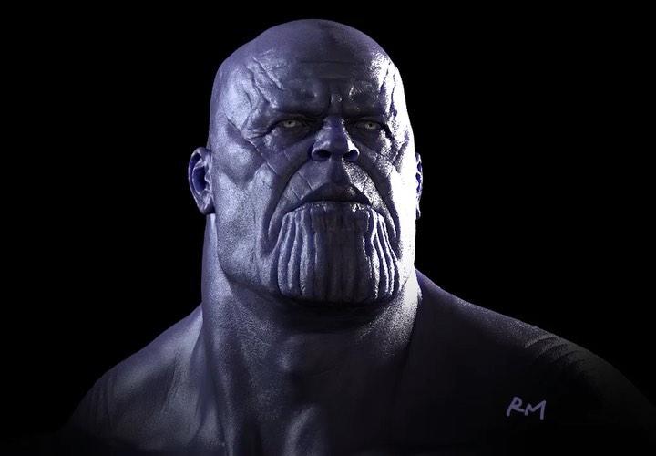 9 577 Likes 63 Comments Ryan Meinerding Ryan Meinerding Art On Instagram Thanos Head Turnaround From Marvel Cinematic Universe Marvel Cinematic Marvel