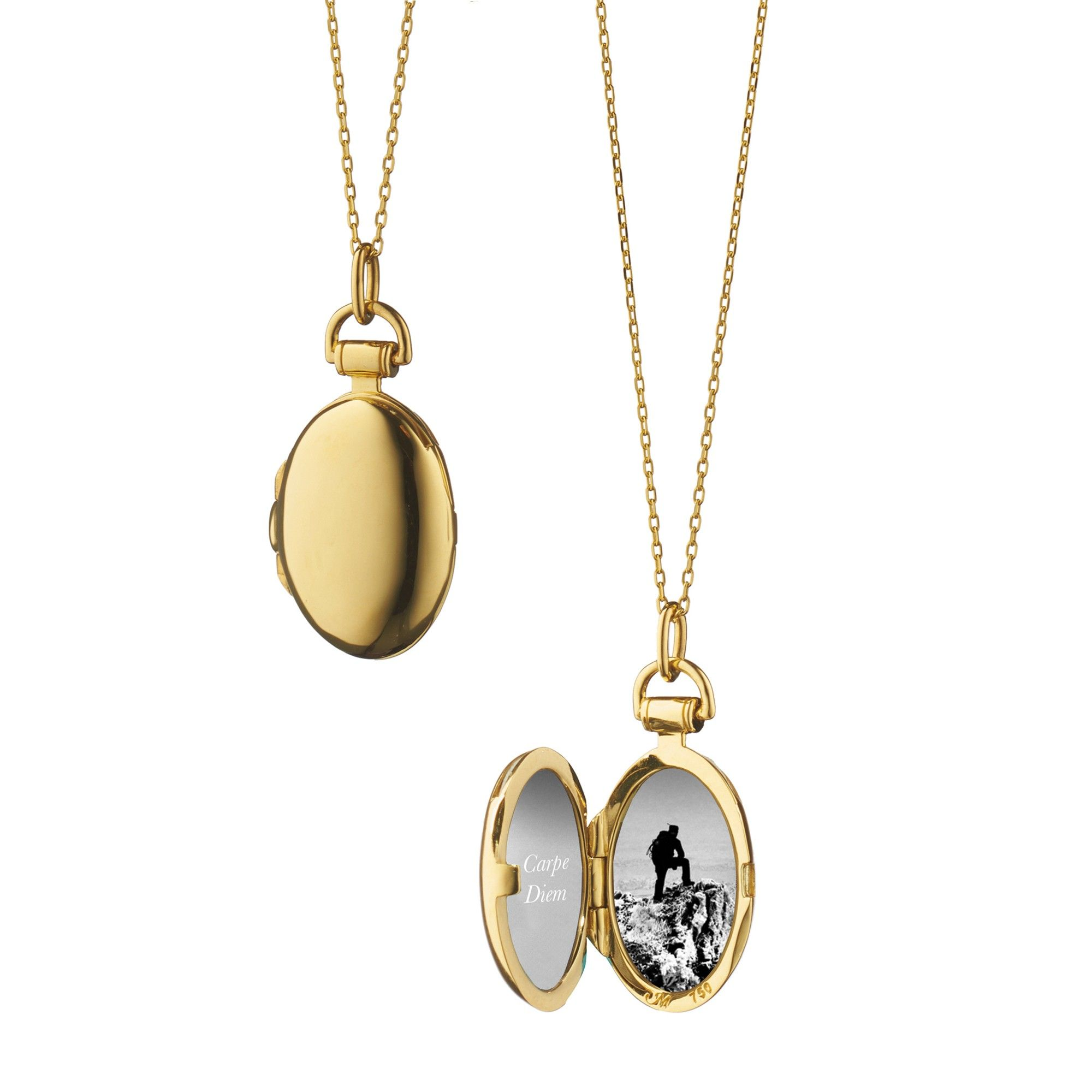 jeffrey and a italian pendant diamonds with gold locket photo product inch chain