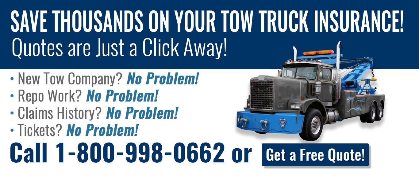 For the best rates you'll find anywhere on Tow Truck