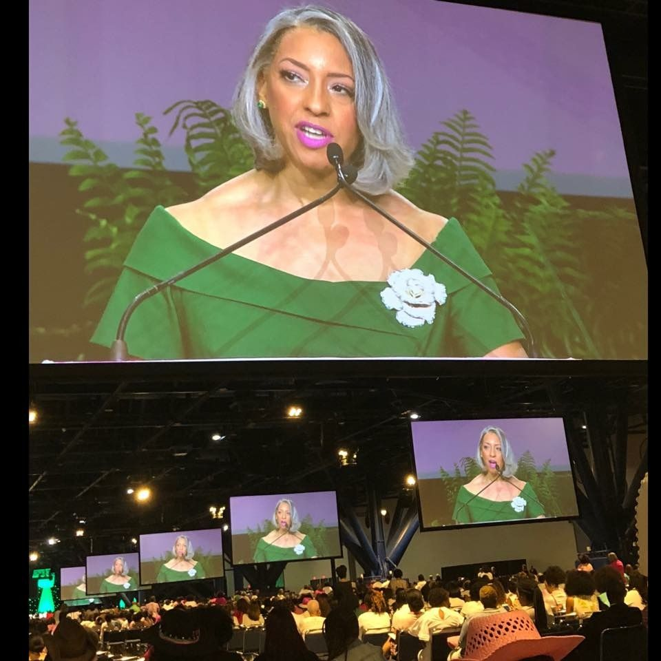Dr. Kimberly Jeffries Leonard, the new President of The