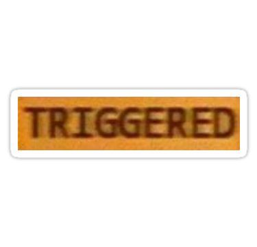 Triggered Sticker Snapchat Stickers Snapchat Funny Meme Stickers