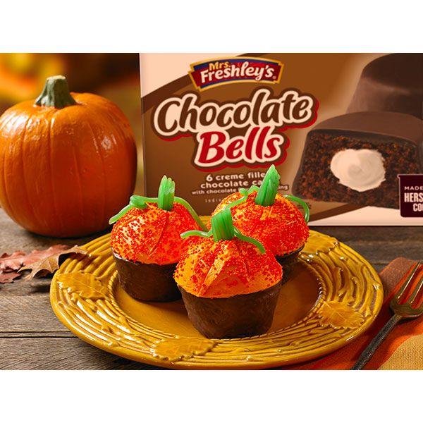 Ingredients Mrs. Freshley\'s Chocolate Bells Vanilla Frosting ...