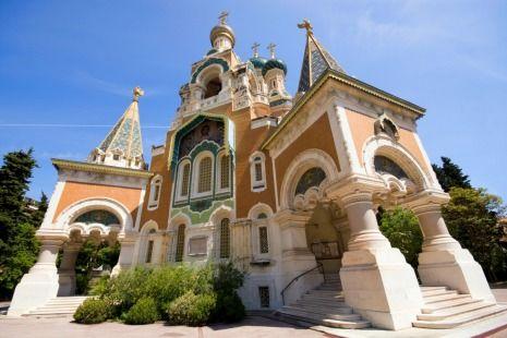 La Cathedrale Orthodoxe Russe Saint Nicolas The St Nicholas Orthodox Cathedral Nice France St Nicolas France Nice