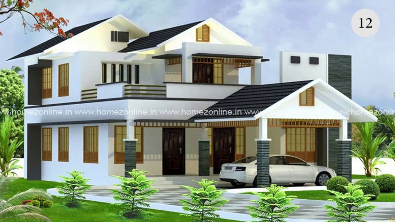 30 Must Watch Latest Hd Home Designs 2017 In 2021 Kerala House Design Latest House Designs Home Design 2017