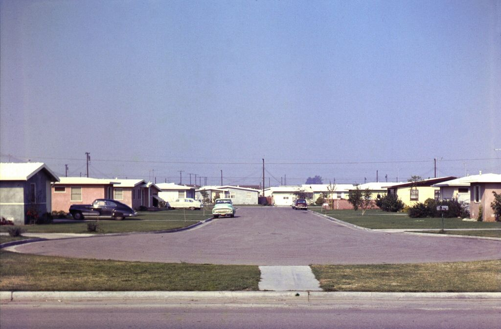Janette Ln At Chapman Ave Garden Grove 1957 With Images
