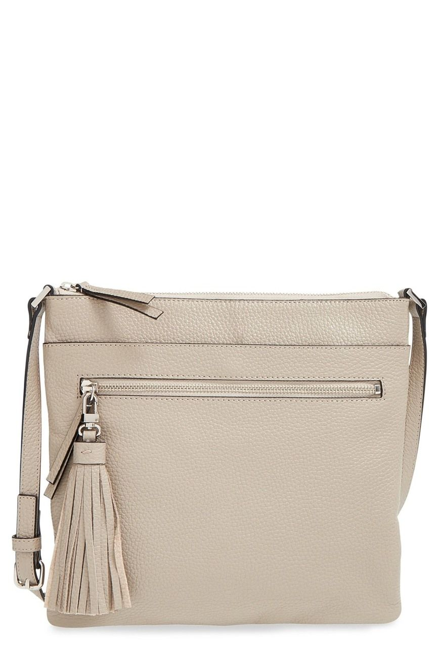 11fdc72ace Tasseled Leather Crossbody Bag in 2019 | Travel | Leather crossbody ...