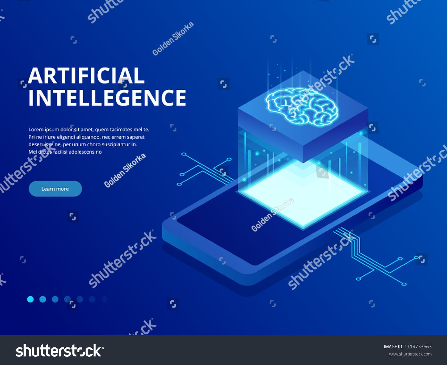 Isometric Artificial Intelligence Business Concept Technology And Engineering Concept Data Connection Pc Smartphon In 2020 Future Technology Intellegence Engineering