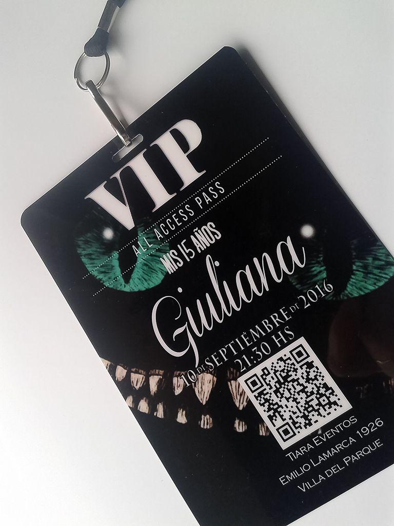 Invitaciones Vip Quince Años Xv Invitaciones De Quince