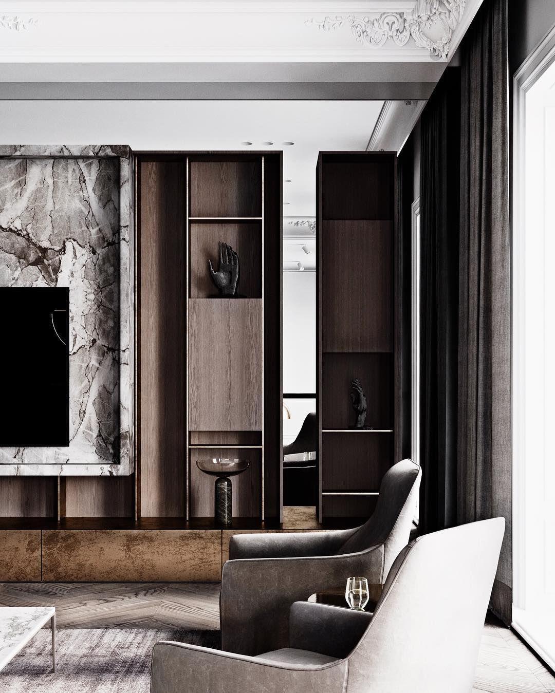 The Retro Stylish Renovation Of Rca Studio By Anderson Design Studio Living Room Designs Luxury Living Room Interior