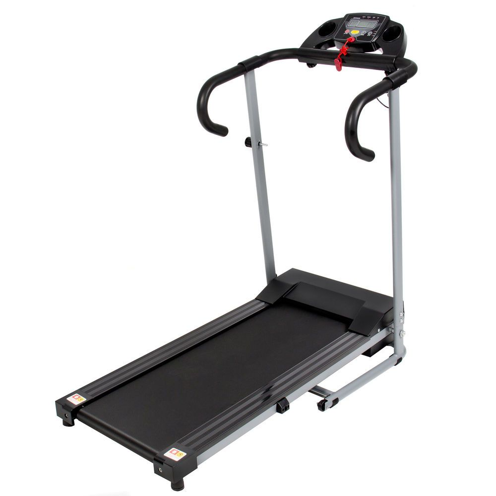 Black 500W Portable Folding Electric Motorized Treadmill Running Fitness Machine in Sporting Goods, Fitness, Running & Yoga, Cardio Equipment | eBay