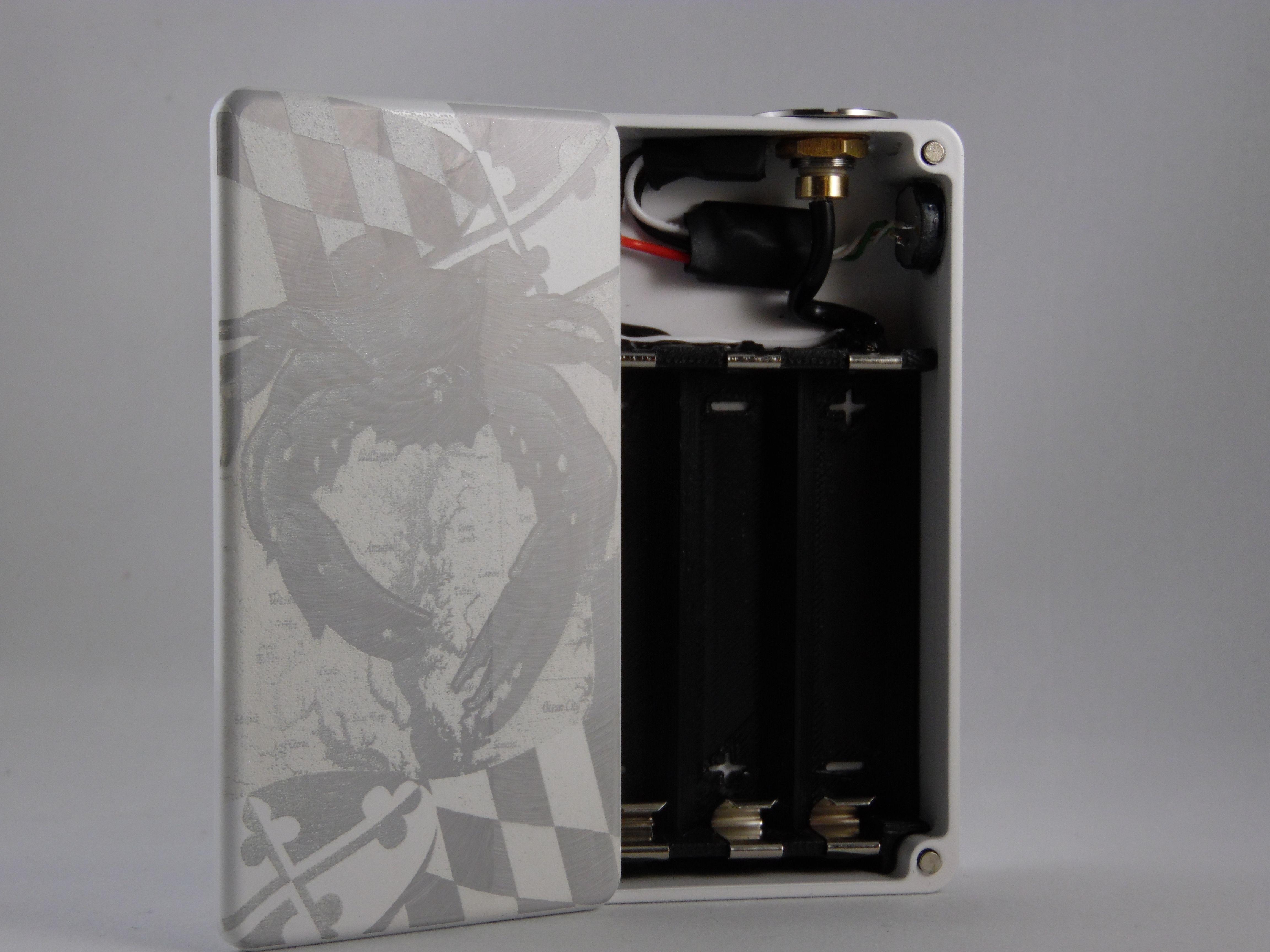 Triple series PWM Box Mod Custom Eclosure Powder coated