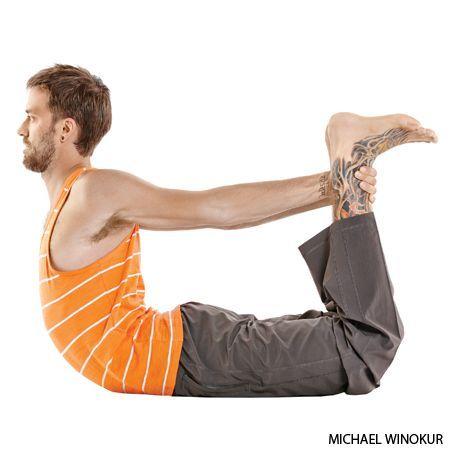 bow yoga pose dhanurasana  yoga  pinterest  yoga poses