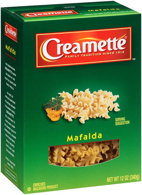 Creamette® Mafalda – Riviana Foods Inc  - The World of Pasta