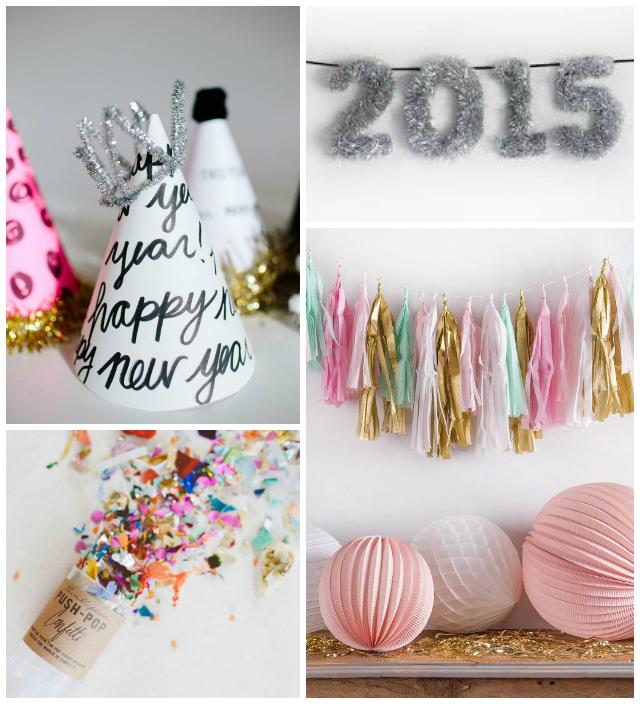 Fiesta de fin de a o en casa low cost la garbatella - Decoracion mesa fin de ano ...