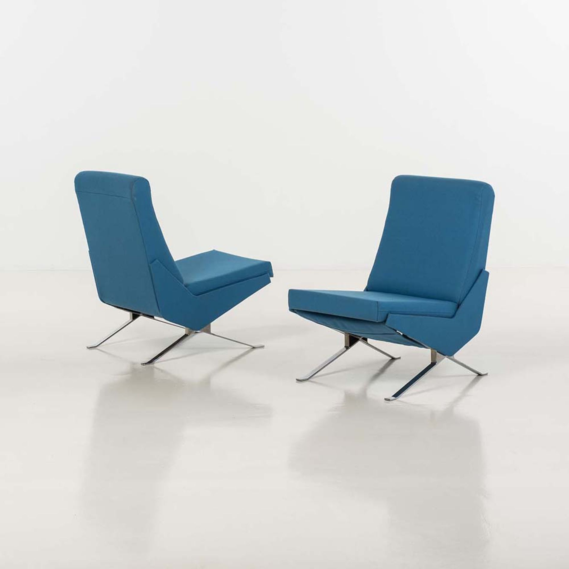 Fauteuils Airborne Pierre Guariche Troika Chairs For Airborne 1958 Chaired