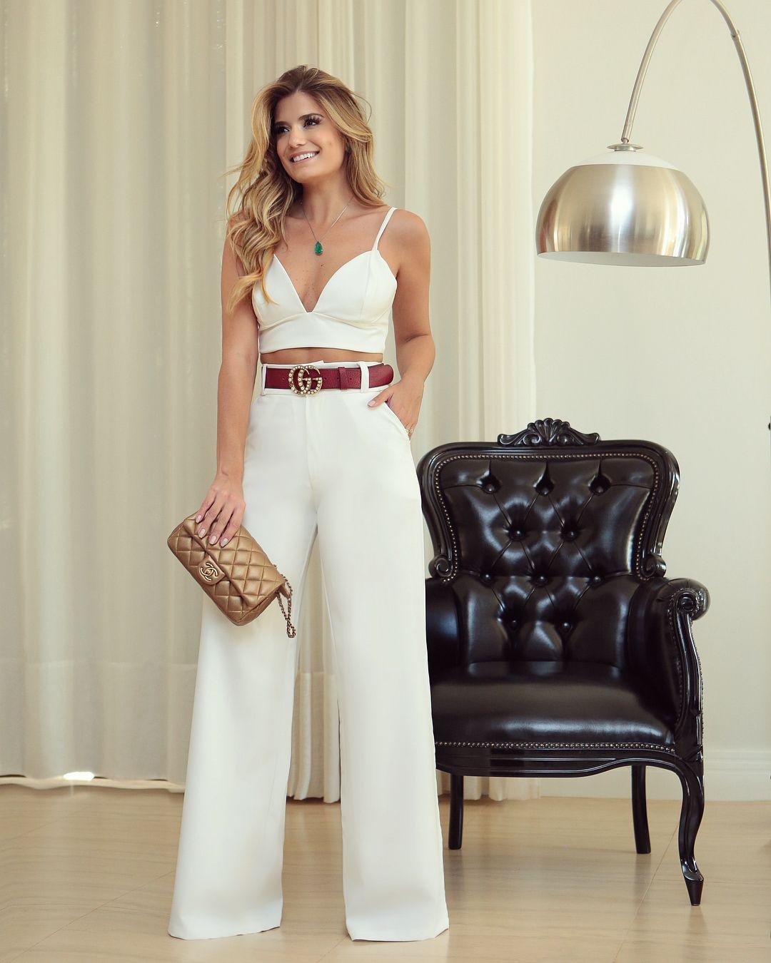 Pin de clarelis em estilo casual | Vestidos casuais verão, Calça ...
