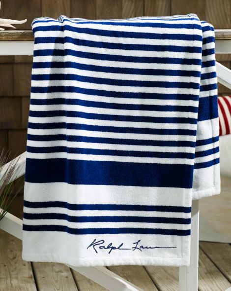 Striped Terry Beach Towel Ralph Lauren Home Best Sellers