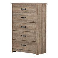 Home Weathered Oak Cupboard Storage Wooden Chest