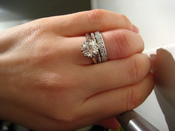 Lovely Example Of How To Add Sparkle A Plain Shank Solitaire Yes