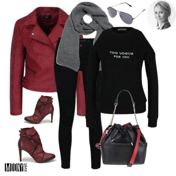 Červená je TOP farbou tejto jesene a nosiť ju môžete vo všetkých odtieňoch  ❤ Buďte iná db68f5809f9