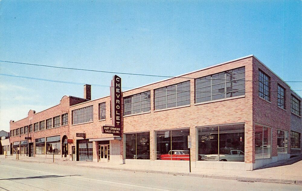 1959 East Syracuse Sales Co., Inc., Chevrolet Dealership