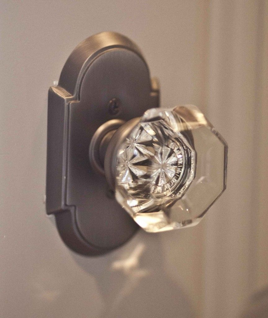 Country French farmhouse style home tour | Crystal door knobs ...