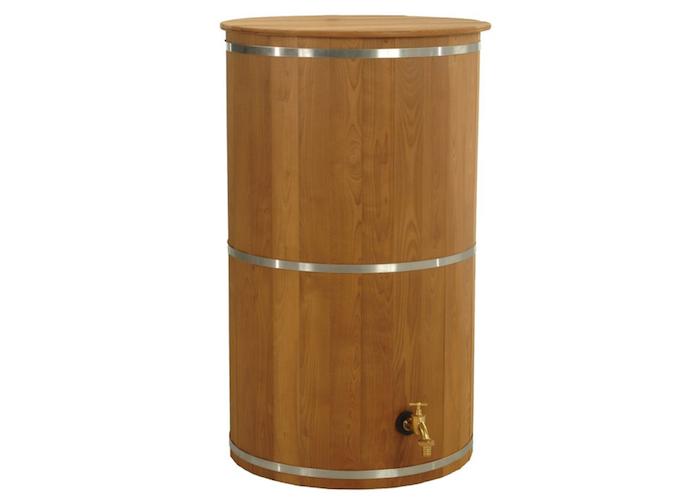 Exaco Trading Wooden Rain Barrel Rain Barrel Rain Water Barrel Barrel