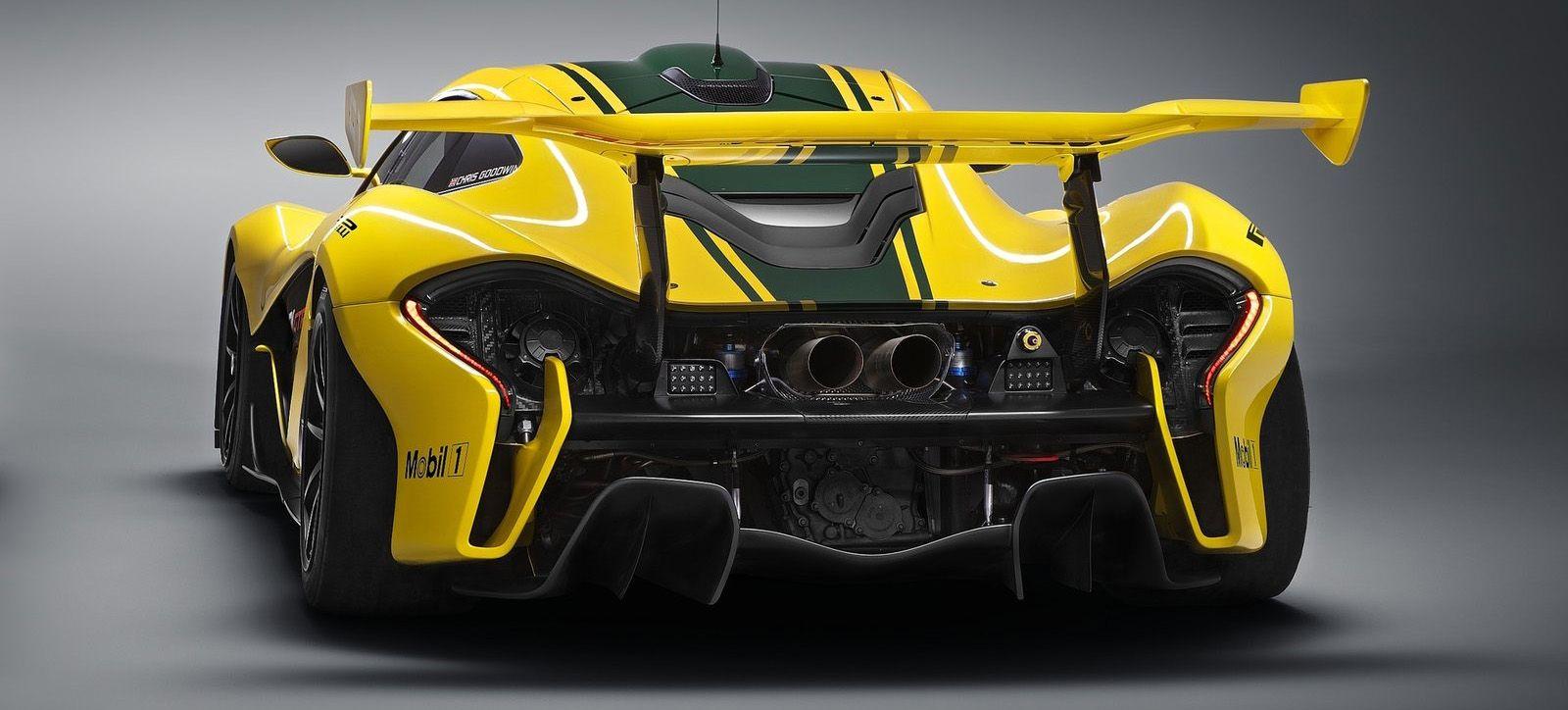 Mclaren P1 Spoiler - Supercars Gallery