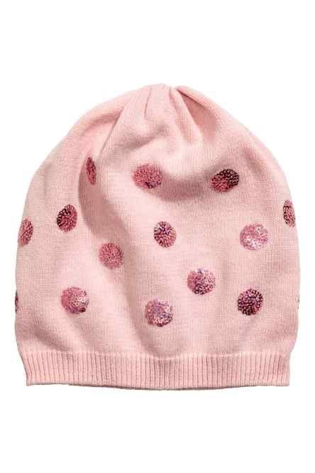 Bonnet à paillettes Paillettes, Enfant, H   M Enfants, Chapeaux Tricotés,  Broderie 8aa60f419e9