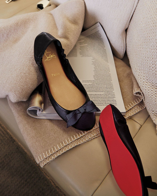 sale retailer 93b1b 54643 Christian Louboutin Air Loubi Red Sole Ballet Flats ...