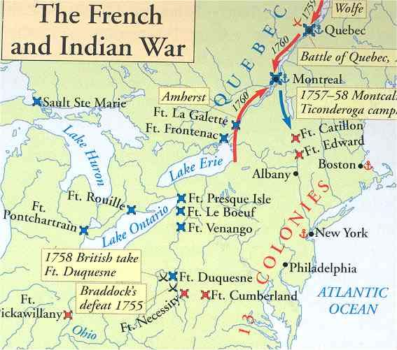 n battles french n war map american n  french and n war essay n battles