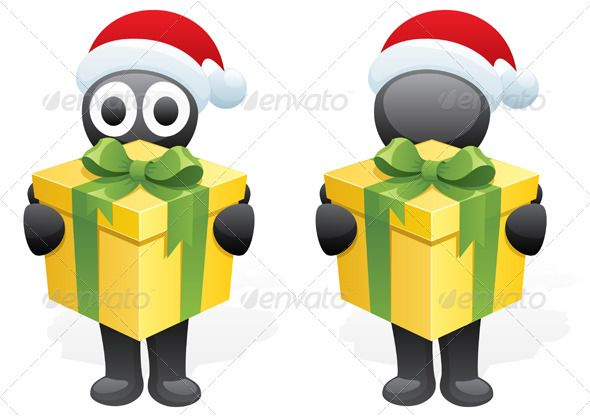 Inky's Gift  #GraphicRiver         Character, bringing you Christmas present. Next to him is the same character, but without eyes. No transparency used. Basic (linear) gradients. CDR , AI, EPS , JPEG and PSD files.     Created: 14September10 GraphicsFilesIncluded: PhotoshopPSD #JPGImage #VectorEPS #AIIllustrator Layered: Yes MinimumAdobeCSVersion: CS Tags: 3d #abstract #black #bringing #cap #carrying #cartoon #character #christmas #clipart #cute #delivering #designelement #gift #giftbox…