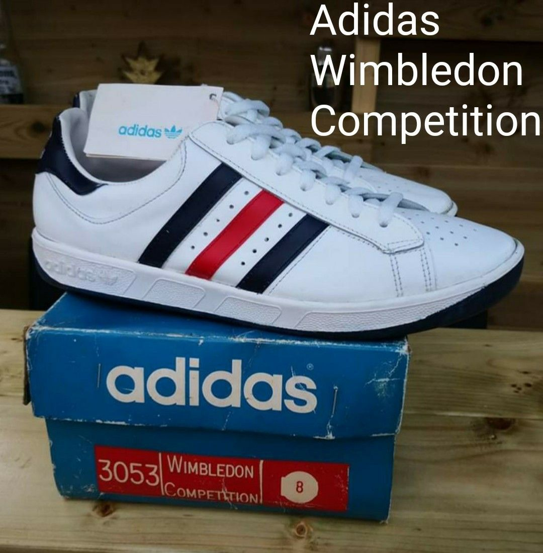 Arena Considerar naranja  Adidas Wimbledon Competition from the 80's, in mint unworn condition... |  Adidas, Sneakers, Vintage adidas
