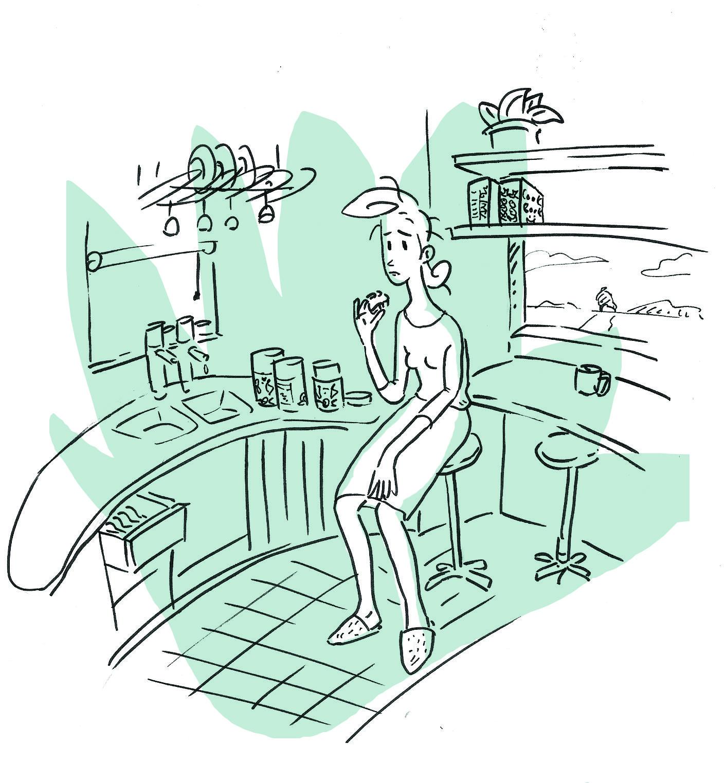 Kora Kora Fish Comic Strips Humanoid Sketch Comics