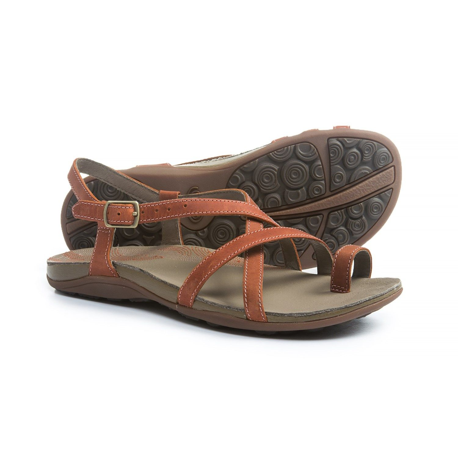 Chaco Dorra Leather Sandals (For Women