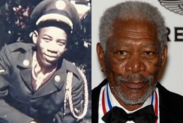 Image result for morgan freeman used to be a fighter pilot