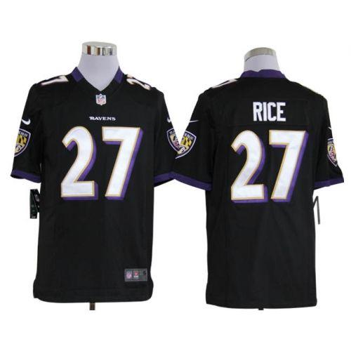 Nike NFL Baltimore Ravens Ray Rice Men's Game Jersey