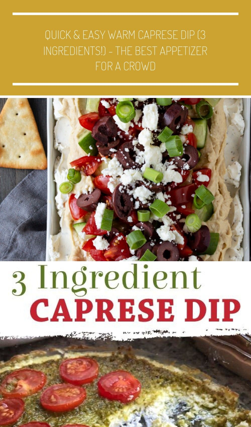 This Layered Greek Dip recipe (a spinoff of a 7-layer dip) is an easy, make-ahead appetizer for a p