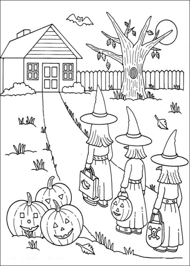 Halloween Ausmalbilder | Halloween ausmalbilder, Ausmalbilder und ...