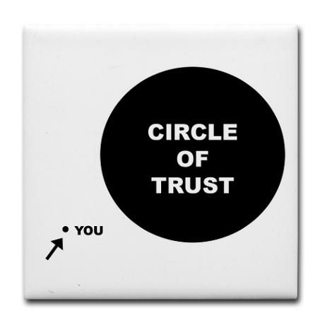 Meet The Parents Circle Of Trust Tile Coaster Quotes And