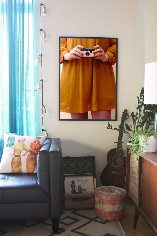 Small Living Room Apartment Therapy: Before & After: An Apartment Therapy Writer's Loft Living