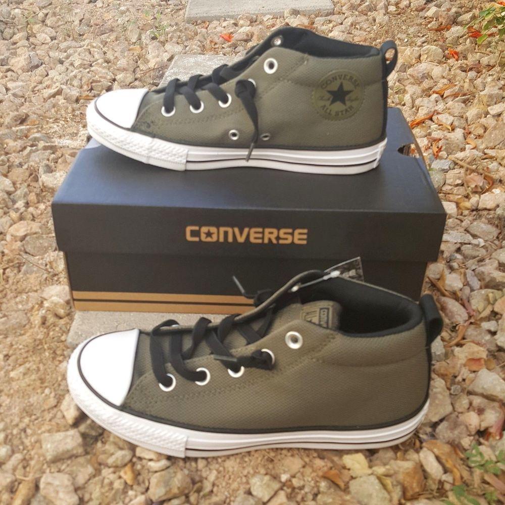 Converse Chuck Taylor All Star Street Mid Olive 658649F