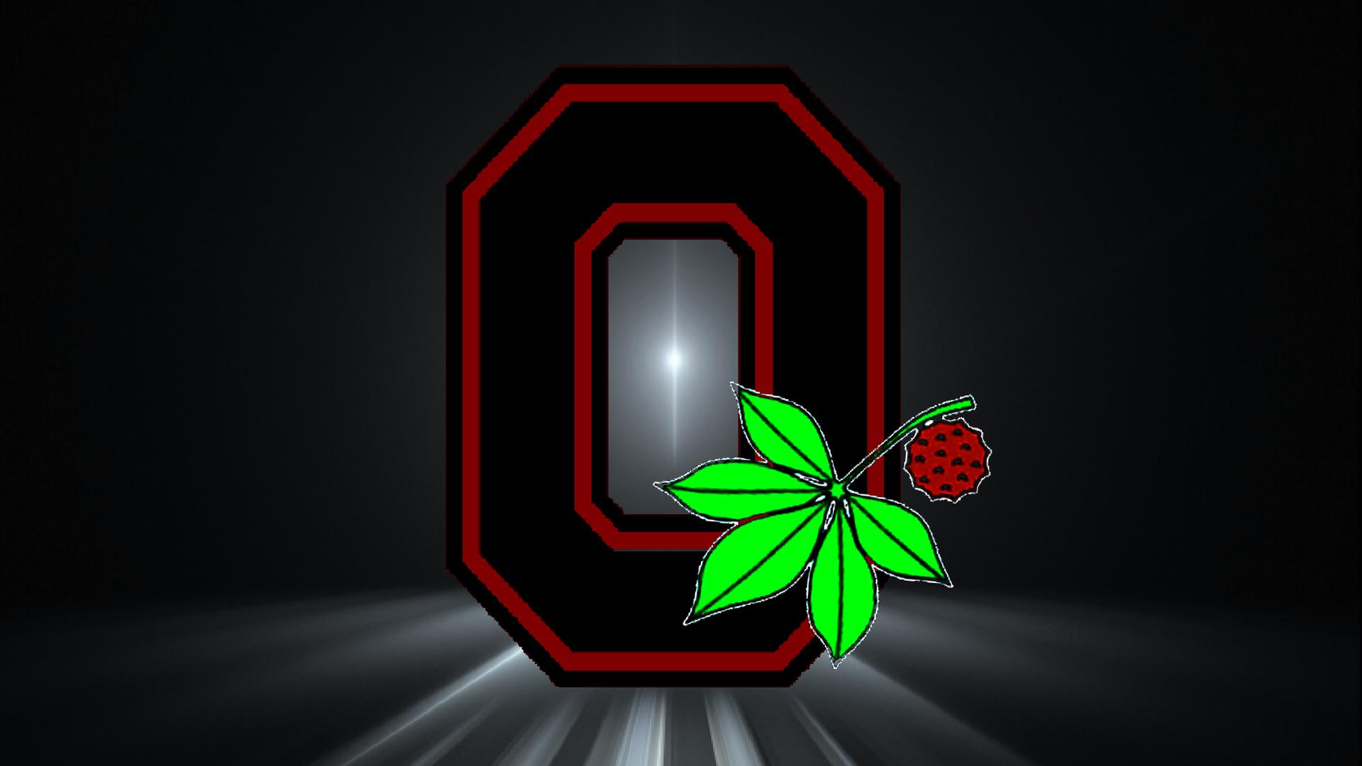 Black Block O With Buckeye And Leaf By Bucks7t2 Ohio State Buckeyes Buckeye Nation Ohio State Football
