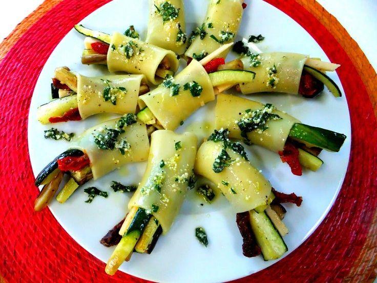Paccheri Pasta with Veggies