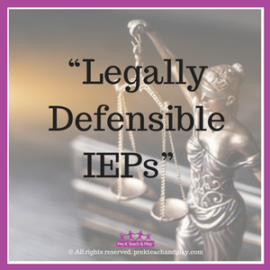 How A Recent Supreme Court Ruling Helps Unpack The Meaning Of Legally Defensible Ieps Pre K Teach And Play Individualized Education Program Developmental Disabilities Iep