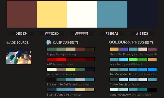 Recursos: 8 webs para Inspirarse y Crear Paletas de Colores | Miss Lavanda