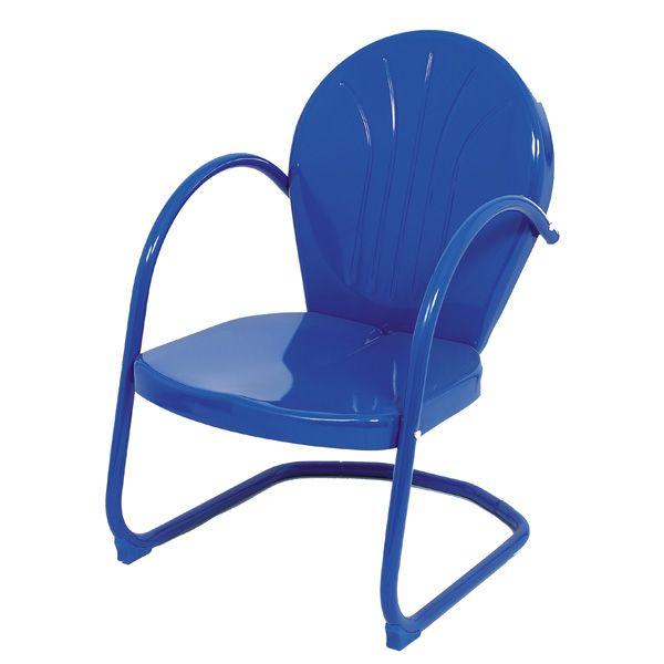East End Patio Retro Metal Tulip Chair   Meijer.com. $48.99