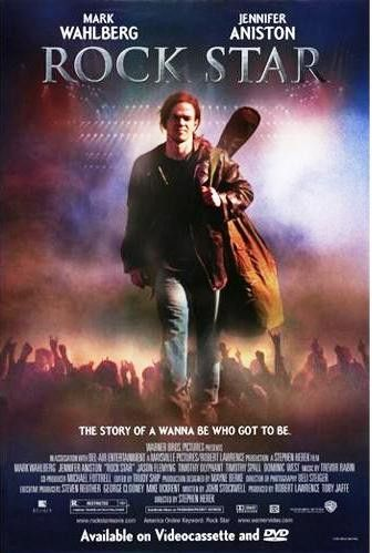 Rock Star Movie Poster 27x40 Used Jennifer Aniston Jamal Weathers